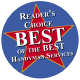 Handyman Works received the Colorado Community Newspapers Reader's Choice Best of the Best award
